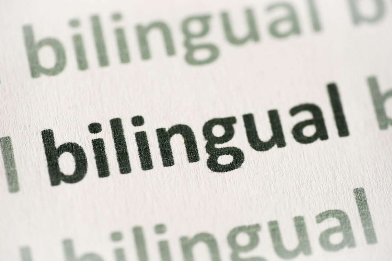 what does bilingual mean